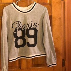 Rue 21 Paris long sleeve top